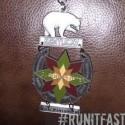 Cloudspitter 50K Medal 2014 Closeup - Run It Fast