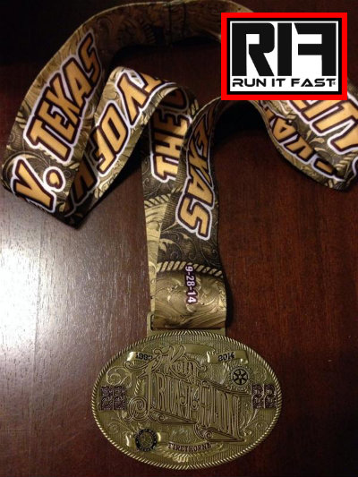 Firethorne Triathlon Medal 2014 - Run It Fast
