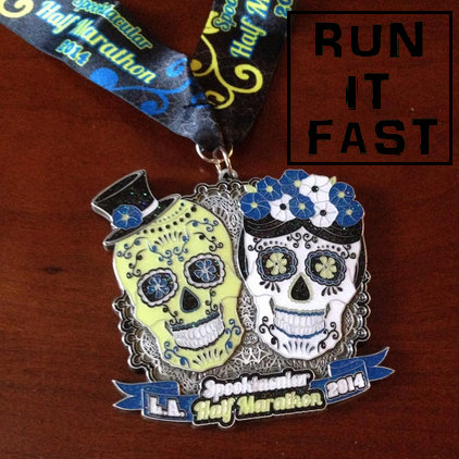 Los Angeles Spooktacular Half Marathon 2014 - Run It Fast