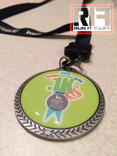 Point1K Medal 2014 - Run It Fast