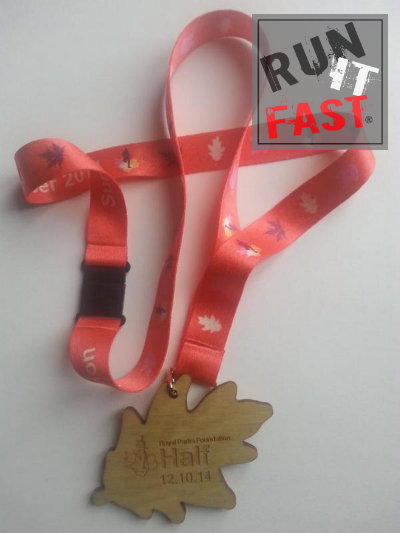 Royal Parks Half Marathon Medal 2014 - Run It Fast