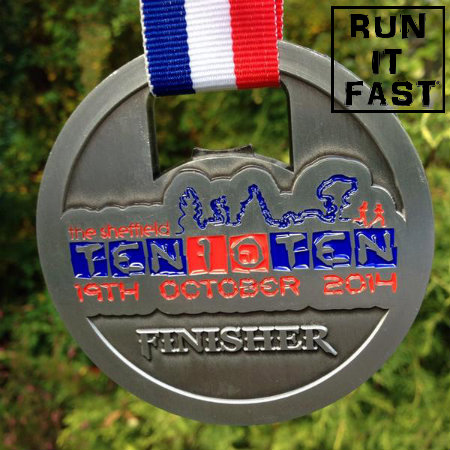 Ten 10 Ten Medal 2014 - Run It Fast