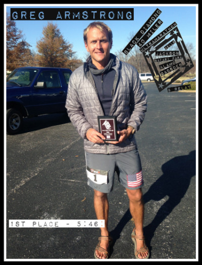 Greg Armstrong 2014 Black Diamond 40 Miler Winner