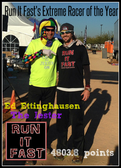 Ed Ettinghausen Run It Fast Extreme Racer of the Year