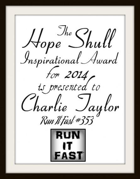Charlie Taylor Hope Shull Award 2014