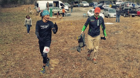 Yong Kim at Lookout 50 Miler Photo credit: Jobie Williams