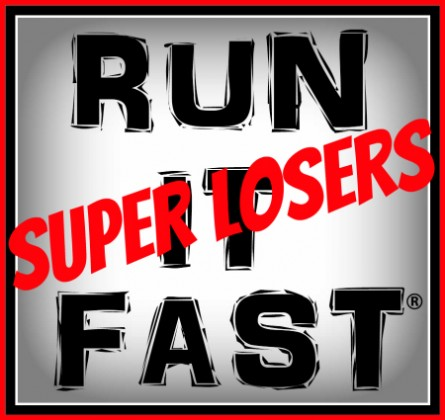 RunItFast Run Super Losers Logo