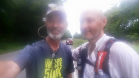Charlie Taylor and Ben Herron Vol State 500K 2015 - Run It Fast
