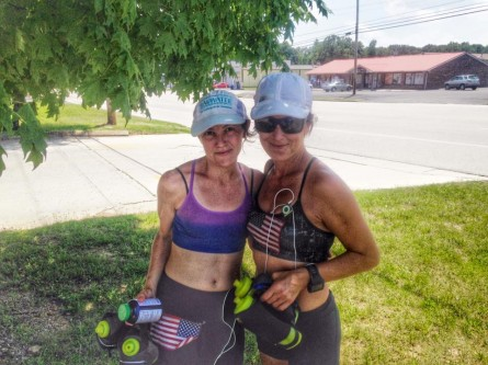 Day 5 Vol State 500K Marylou Corino and Lisa Van Wolde