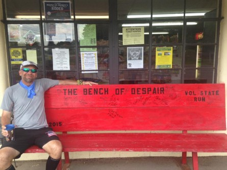 Day 5 Vol State 500K Shane Tucker Bench of Despair - Run It Fast