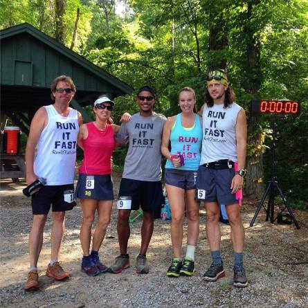 5 Jackal Marathoners in 5 Days: David Oglesby, Diane Bolton, Anthony Ohrey, Leslie Harwell, Joshua Holmes