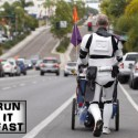 Kevin Doyle Stormtrooper Back 501 Mile Walk - Run It Fast