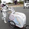 Kevin Doyle Stormtrooper Push Cart 501 Mile Walk - Run It Fast