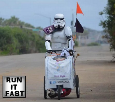 Kevin Doyle Stormtrooper Relentless Front 501 Mile Walk - Run It Fast