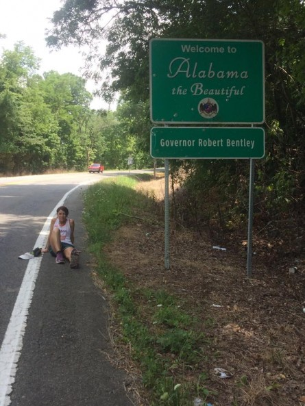 Marylou Corino Vol State 500K Resting in Alabama - Run It Fast