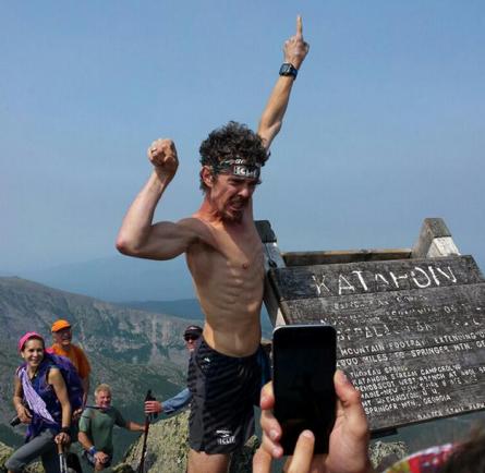 Scott Jurek Power Flex Appalachian Trail Record - Run It Fast