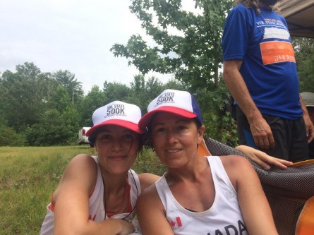 Vol State 500K 1st Female Marylou Corino and Lisa Van Wolde - Run It Fast