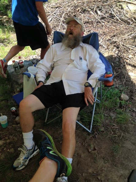 Vol State 500K A Knocked the Eff Out Lazarus Lake at The Rock - Run It Fast
