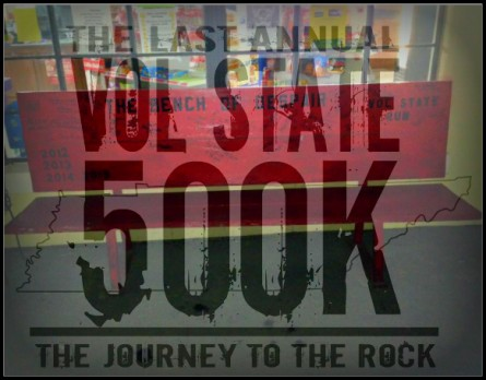 Vol State 500K Bench of Despair Logo