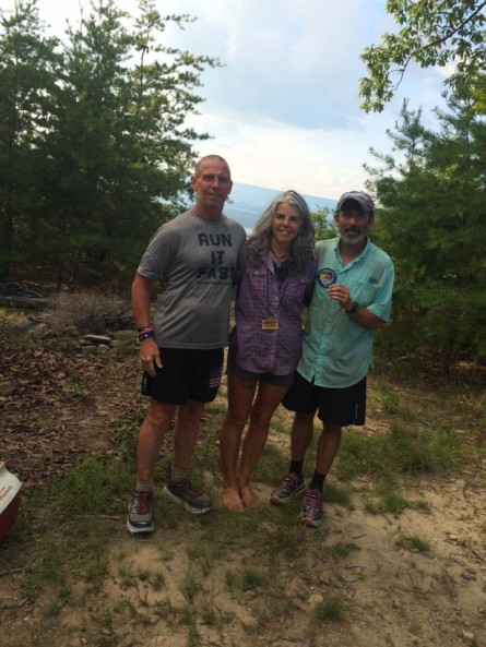 Vol State 500K Sal Coll Karen Jackson and Bo Millwood at The Rock 2015 - Run It Fast