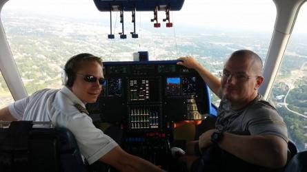Goodyear Half Chris Baker with Blimp Pilot - Run It Fast