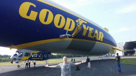 Goodyear Half Chris Baker with Blimp - Run It Fast