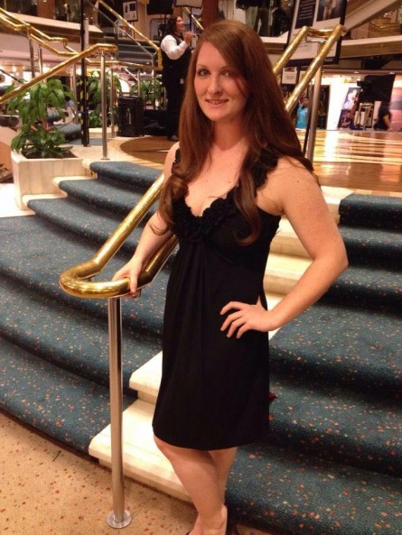 Shannon Miller Cruise Ship Formal