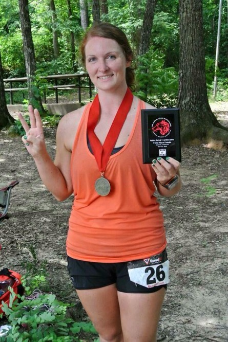 Shannon Miller - The Native Jackal Trail Marathon 2014