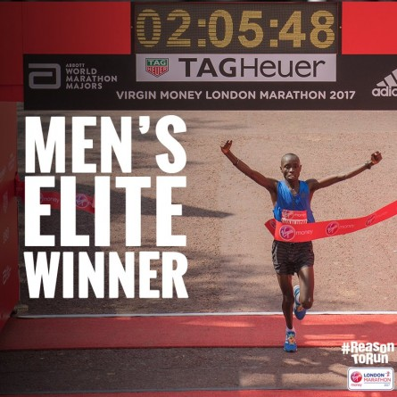Daniel Wanjiru London Marathon 2017 Winner - Run It Fast