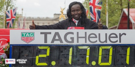 Mary Keitany London Marathon Time Women Only World Record - Run It Fast