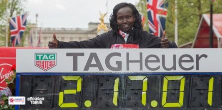 Mary Keitany London Marathon Time Women Only World Record - Run It Fast