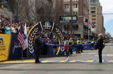 Geoffrey Kirui Wins Boston Marathon